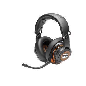 JBL Quantum ONE - Black - USB wired PC over-ear professional gaming headset with head-tracking enhanced JBL QuantumSPHERE 360 - Hero