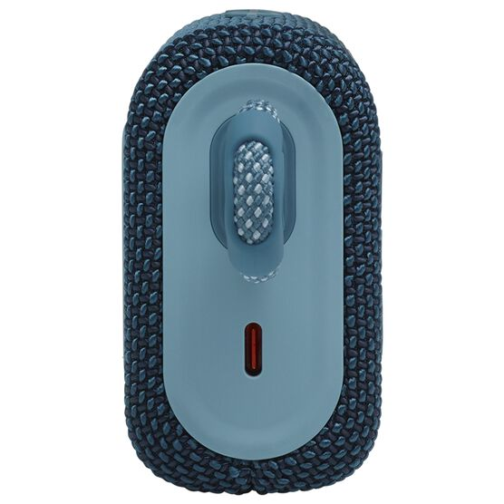 JBL GO 3 - Blue - Portable Waterproof Speaker - Left