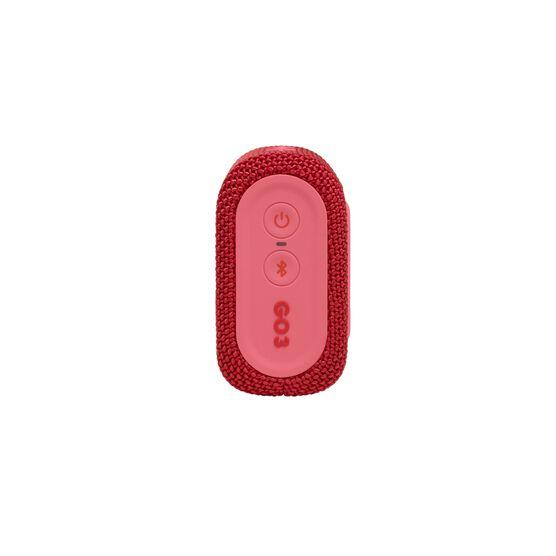 JBL GO 3 - Red - Portable Waterproof Speaker - Right