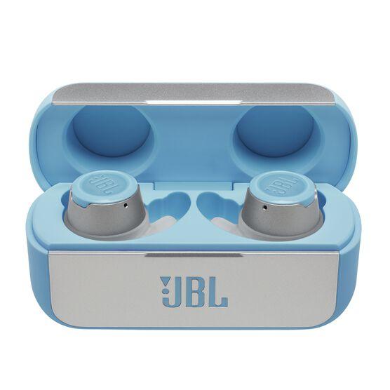 JBL Reflect Flow - Teal - Waterproof true wireless sport earbuds - Hero
