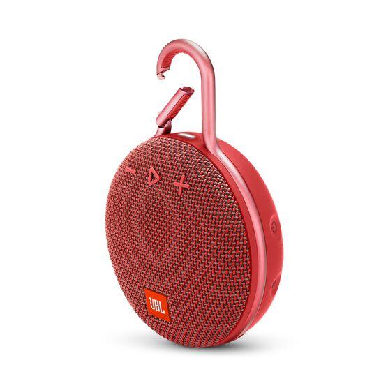JBL CLIP 3 - Fiesta Red - Portable Bluetooth® speaker - Hero