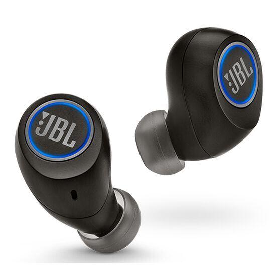 JBL FREE X Ear piece - Black - Hero