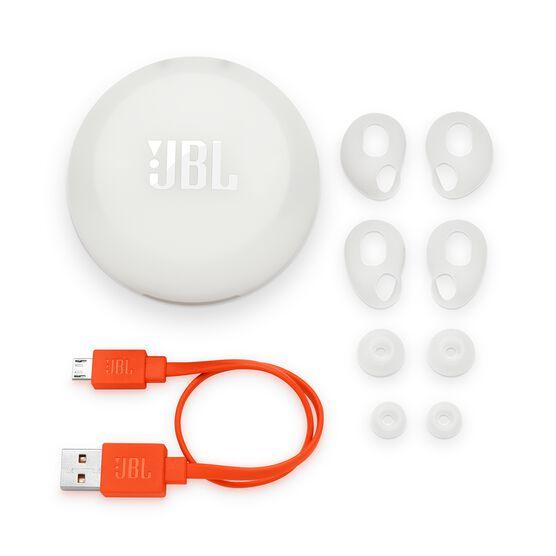 JBL Free X - White - True wireless in-ear headphones - Detailshot 3