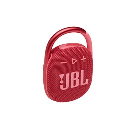 JBL CLIP 4 - Red - Ultra-portable Waterproof Speaker - Hero