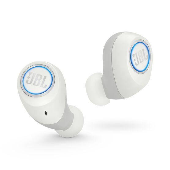 JBL Free X - White - True wireless in-ear headphones - Front