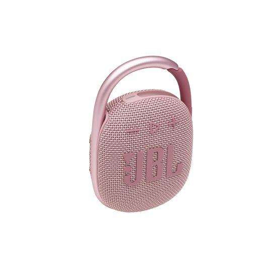 JBL CLIP 4 - Pink - Ultra-portable Waterproof Speaker - Hero