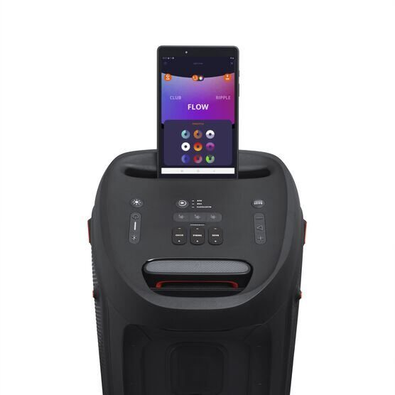 JBL Partybox 310 - Black - Portable party speaker with dazzling lights and powerful JBL Pro Sound - Detailshot 2