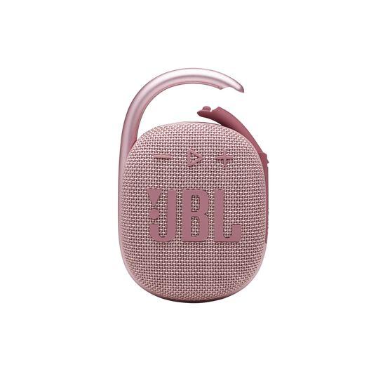 JBL CLIP 4 - Pink - Ultra-portable Waterproof Speaker - Front