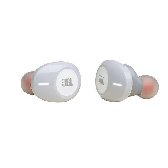 JBL Tune 120TWS - White - True wireless in-ear headphones. - Detailshot 1