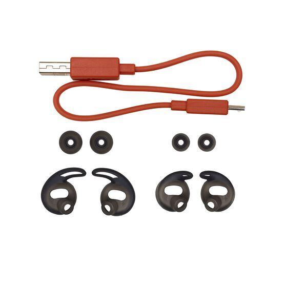 JBL Reflect Flow - Black - Waterproof true wireless sport earbuds - Detailshot 2