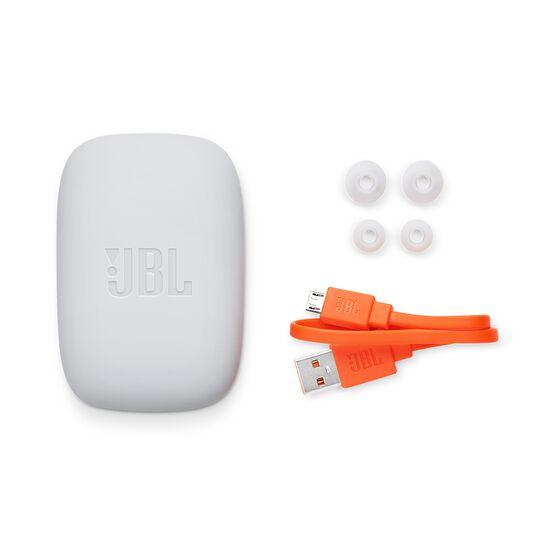 JBL Endurance JUMP - Teal - Waterproof Wireless Sport In-Ear Headphones - Detailshot 4