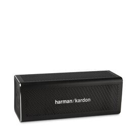 HK One - Black - Portable Bluetooth Speaker - Hero