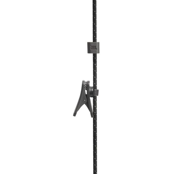 UA Sport Wireless REACT - Black - Secure-fitting wireless sport earphones with JBL technology and sound - Detailshot