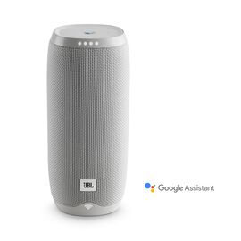 JBL Link 20 - White - Voice-activated portable speaker - Hero