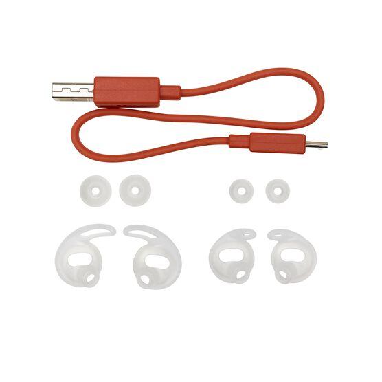 JBL Reflect Flow - Green - Waterproof true wireless sport earbuds - Detailshot 2