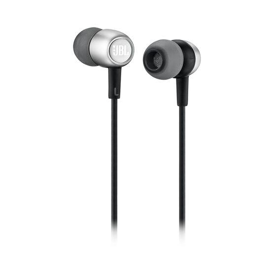 JBL Duet Mini - Silver - Wireless In-Ear headphones. - Kabellose In-Ear-Kopfhörer. - Detailshot 1