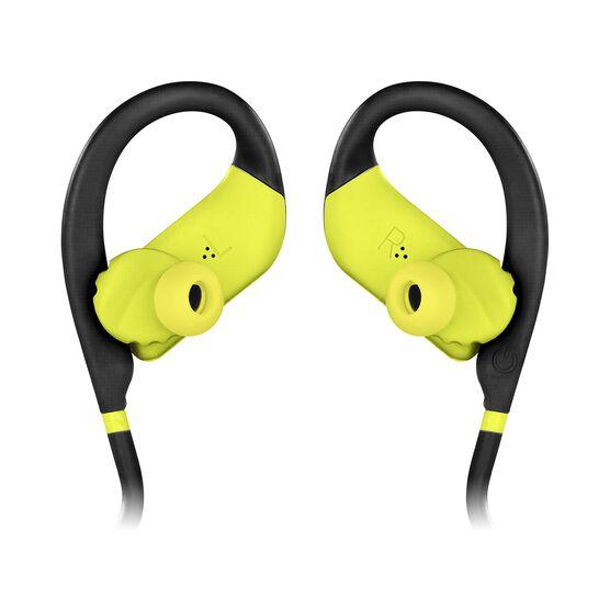 JBL Endurance JUMP - Yellow - Waterproof Wireless Sport In-Ear Headphones - Detailshot 3