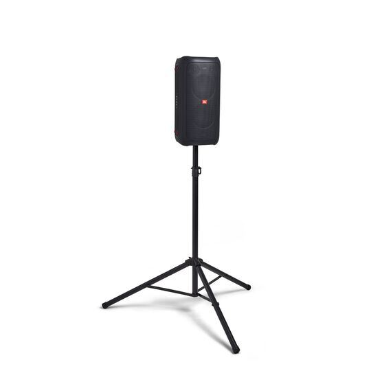 JBL PartyBox 100 - Black - Powerful portable Bluetooth party speaker with dynamic light show - Detailshot 3