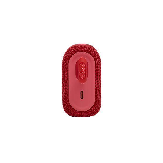 JBL GO 3 - Red - Portable Waterproof Speaker - Left