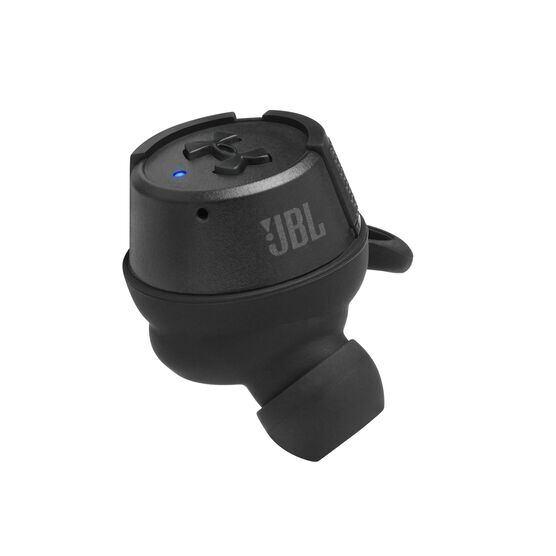 UA True Wireless Flash X - Engineered by JBL - Black - Waterproof true wireless sport earbuds - Detailshot 4