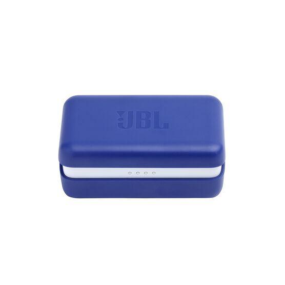JBL Endurance PEAK - Blue - Waterproof True Wireless In-Ear Sport Headphones - Detailshot 5