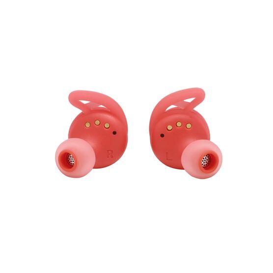 UA True Wireless Streak - Red - Ultra-compact In-Ear Sport Headphones - Detailshot 1