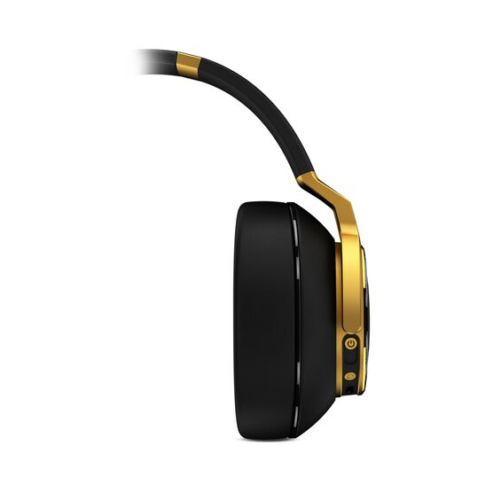 N90Q - Gold - Reference class auto-calibrating noise-cancelling headphones - Front