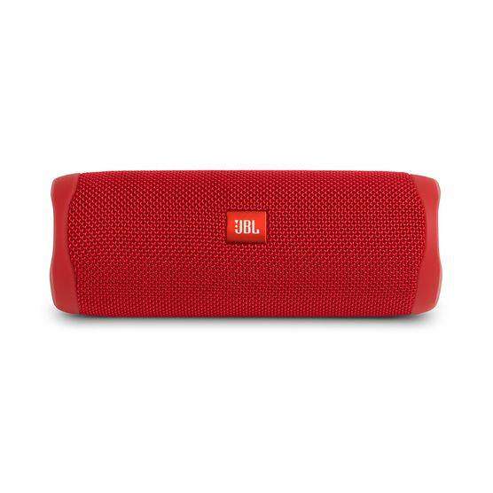 JBL FLIP 5 - Red - Portable Waterproof Speaker - Front