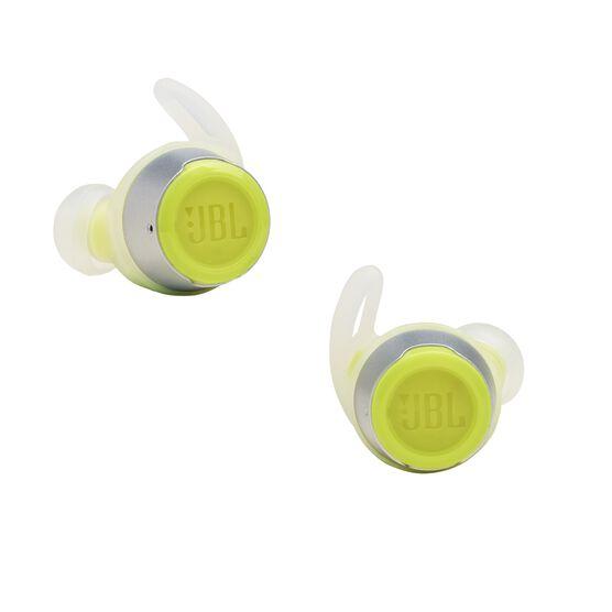 JBL Reflect Flow - Green - Waterproof true wireless sport earbuds - Detailshot 3