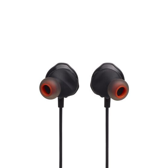 JBL Quantum 50 - Black - Wired in-ear gaming headset with volume slider and mic mute - Detailshot 4