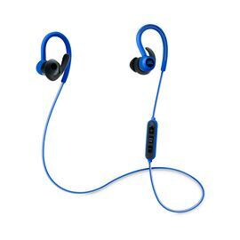 Reflect Contour - Blue - Secure fit wireless sport headphones - Hero