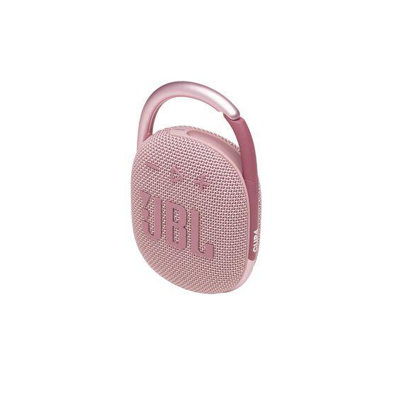 JBL CLIP 4 - Pink - Ultra-portable Waterproof Speaker - Detailshot 2