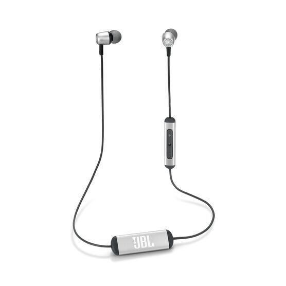 JBL Duet Mini - Silver - Wireless In-Ear headphones. - Kabellose In-Ear-Kopfhörer. - Hero