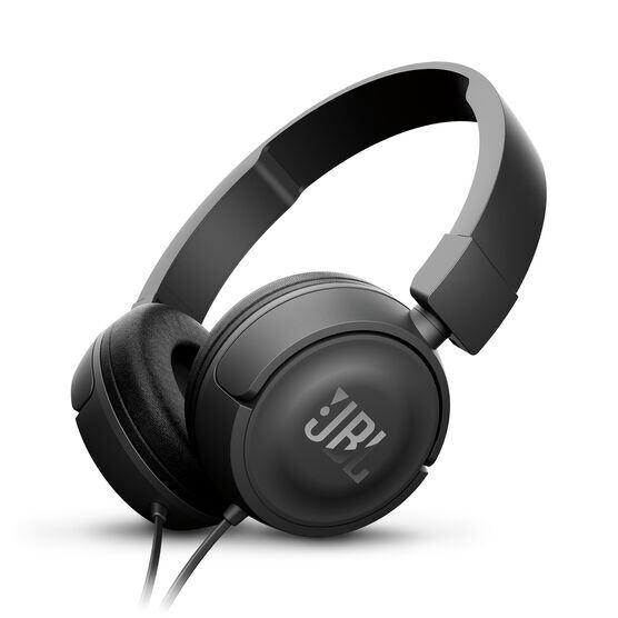 JBL T450 - Black - On-ear headphones - Hero