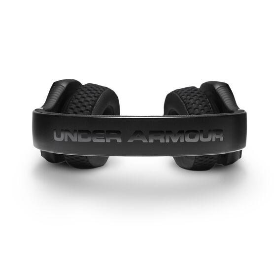 UA Sport Wireless Train – Engineered by JBL - Black - Wireless on-ear headphone built for the gym - Detailshot 4