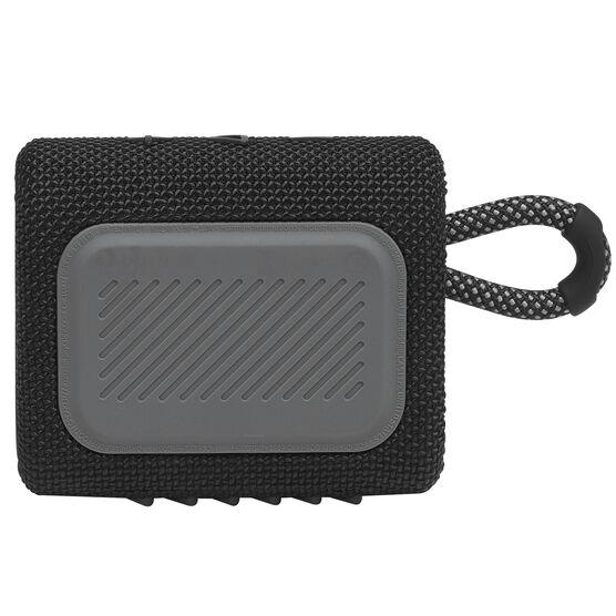 JBL GO 3 - Black - Portable Waterproof Speaker - Back
