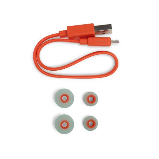 JBL TUNE 115BT - Teal - Wireless In-Ear headphones - Detailshot 4