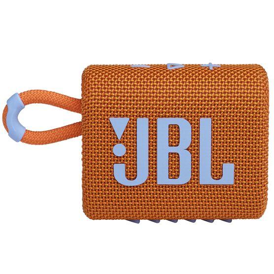 JBL Go 3 - Orange - Portable Waterproof Speaker - Front