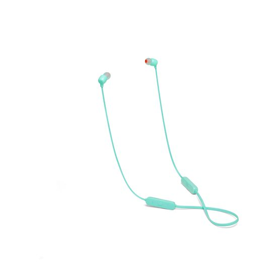 JBL TUNE 115BT - Teal - Wireless In-Ear headphones - Hero