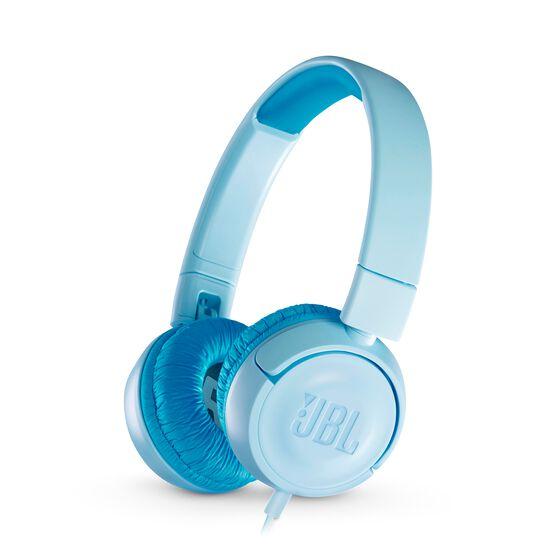 JBL JR300 - Ice Blue - Kids on-ear Headphones - Hero