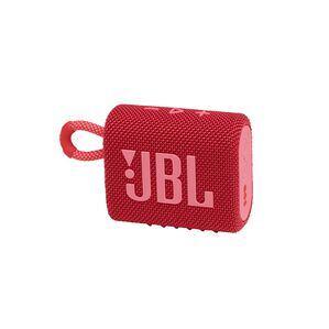 JBL GO 3 - Red - Portable Waterproof Speaker - Hero