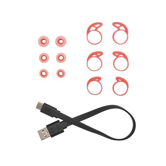 UA True Wireless Streak - Red - Ultra-compact In-Ear Sport Headphones - Detailshot 8