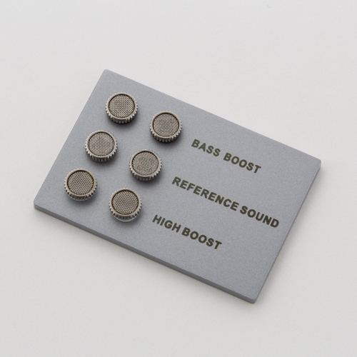 AKG N40 Sound filter - Silver - Hero