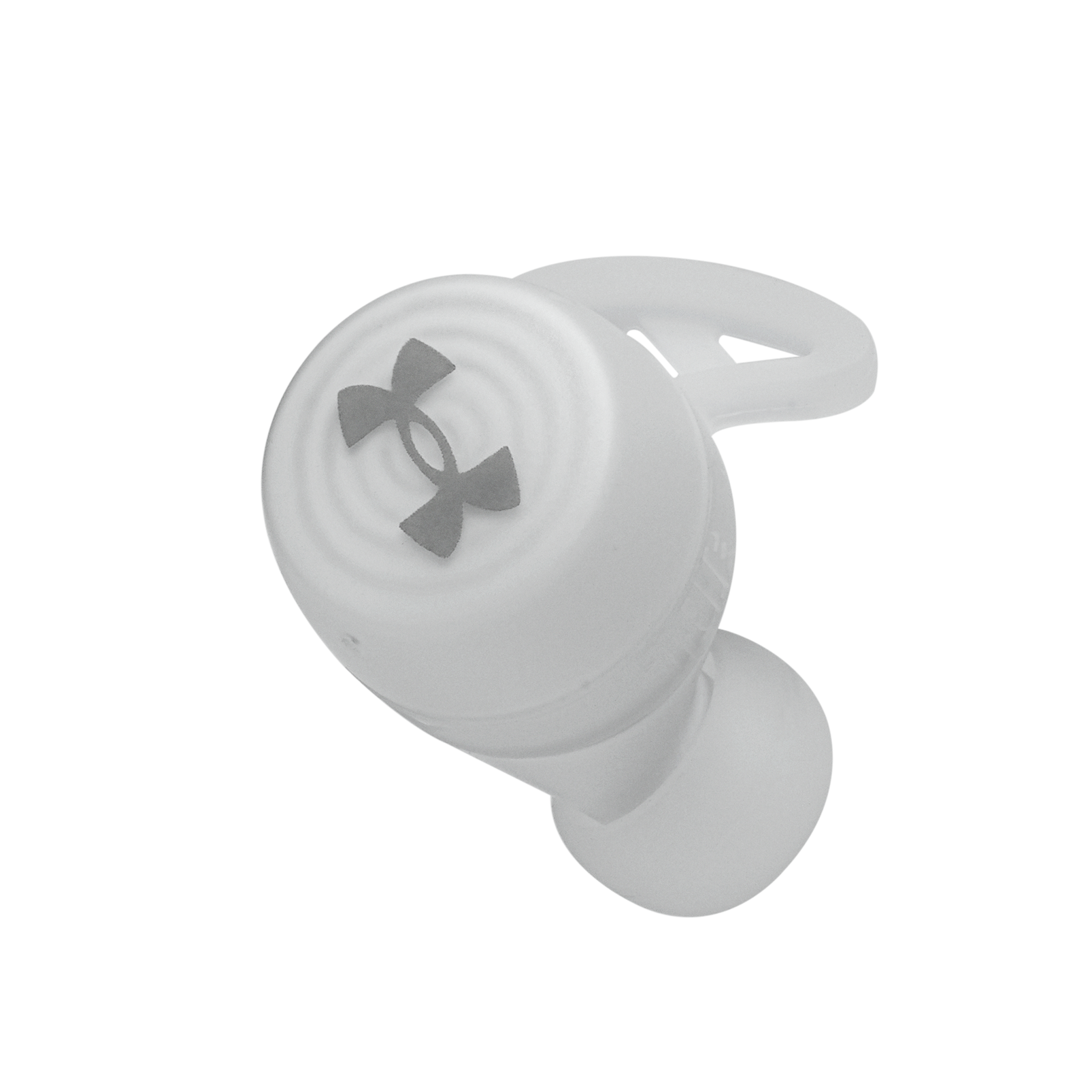 UA True Wireless Streak - White - Ultra-compact In-Ear Sport Headphones - Detailshot 3