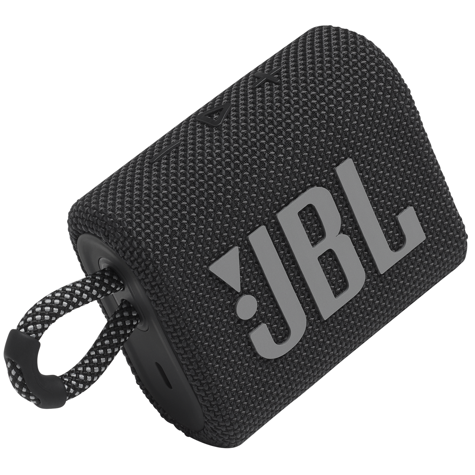 JBL GO 3 - Black - Portable Waterproof Speaker - Detailshot 1