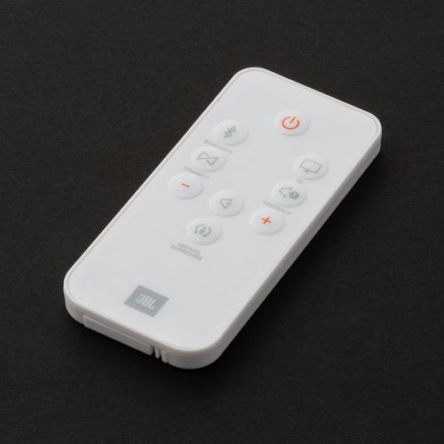 JBL BOOST TV Remote controller - White - Hero