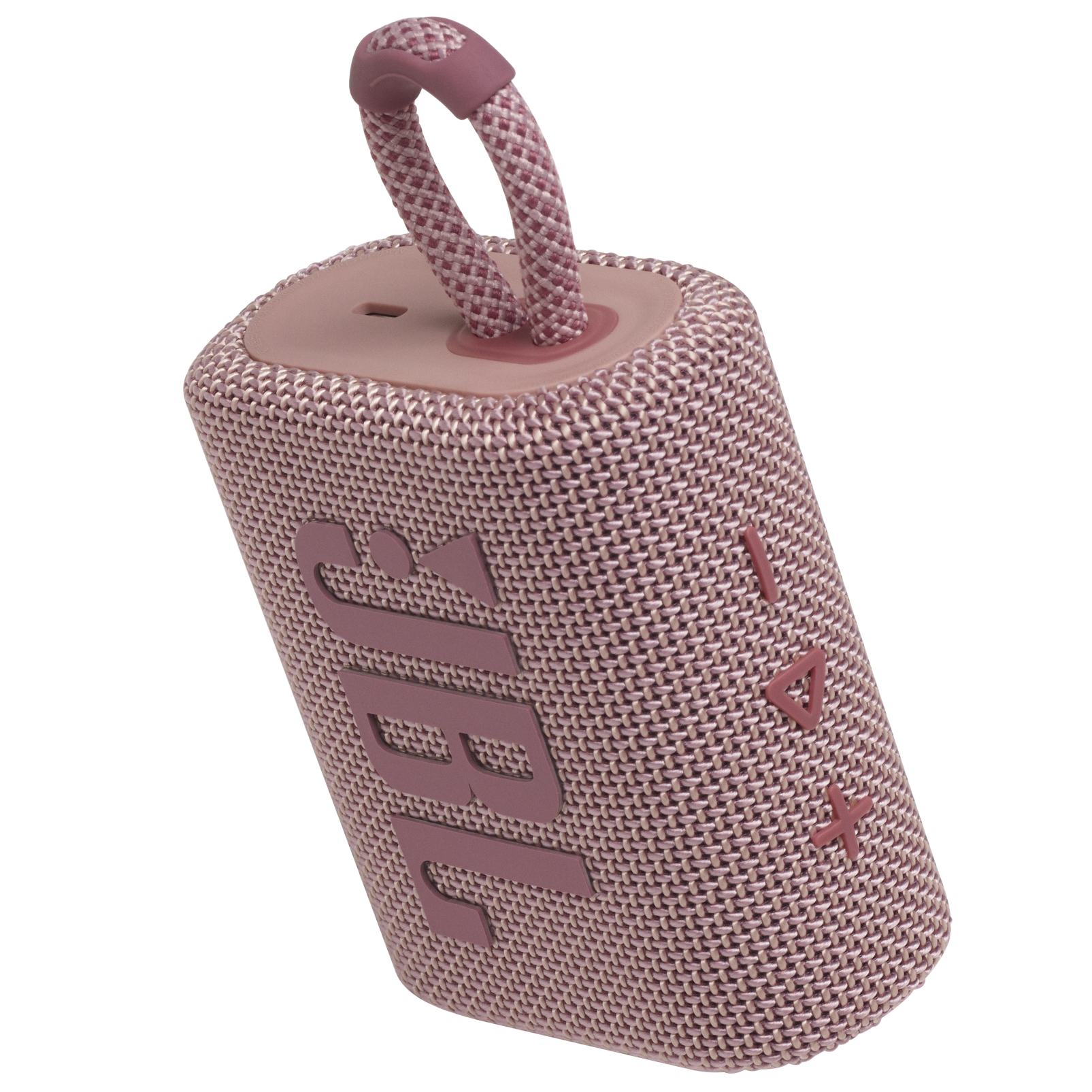JBL GO 3 - Pink - Portable Waterproof Speaker - Detailshot 2