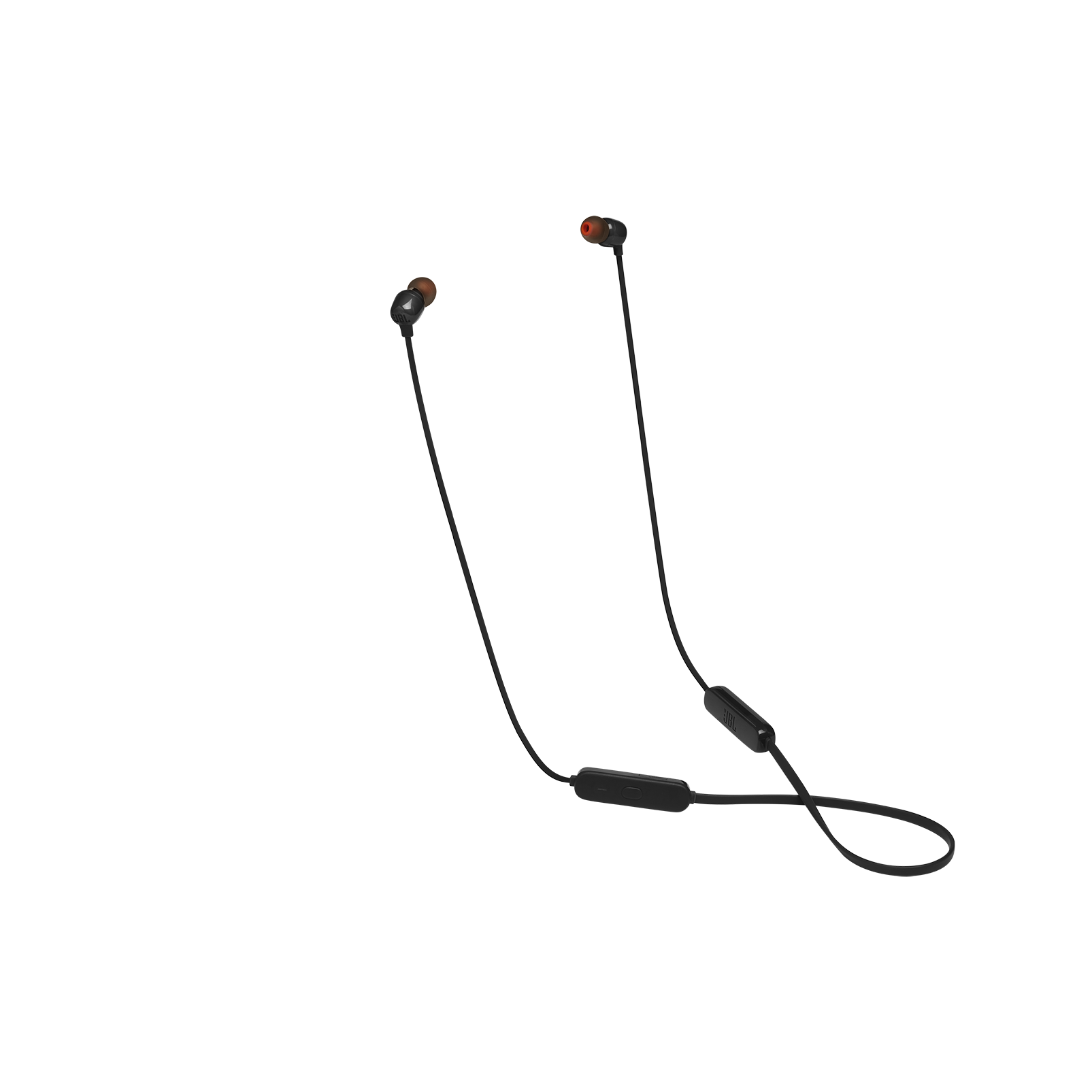 JBL TUNE 115BT - Black - Wireless In-Ear headphones - Hero