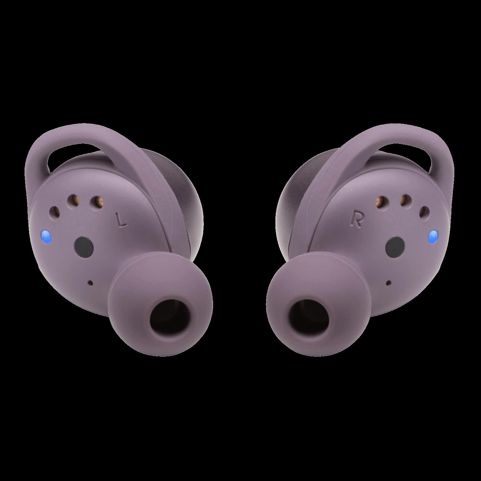 JBL Live 300TWS - Purple - True wireless in-ear headphones with Smart Ambient - Back