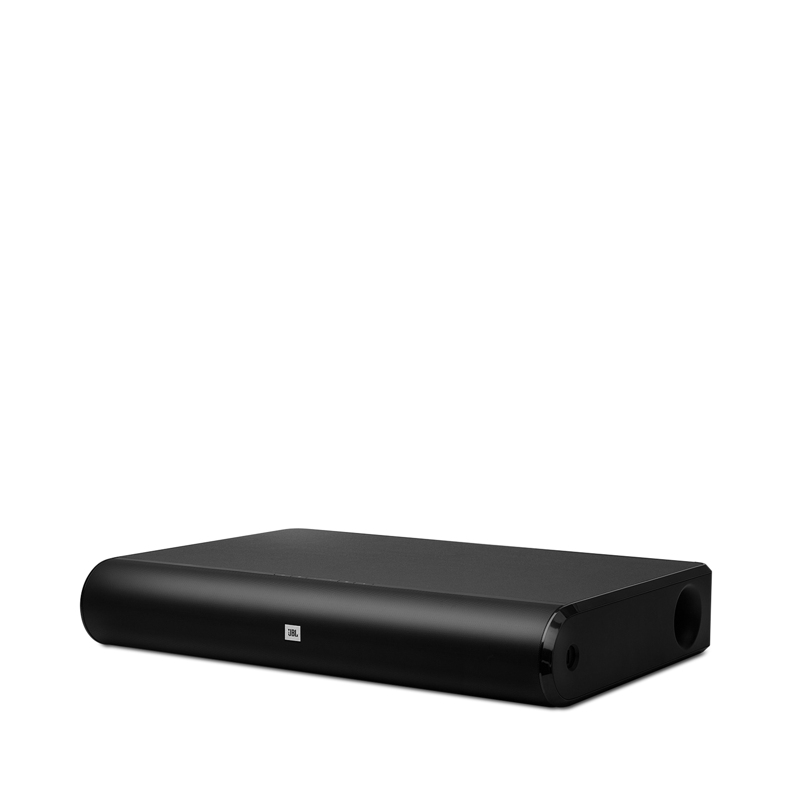 JBL Cinema Base - Black - Home cinema 2.2 all in one soundbase for television - Hero